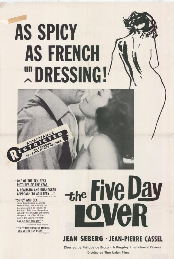 Five Day Lover Poster